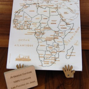 Puzzle Afrique JS chevalet panneau Art