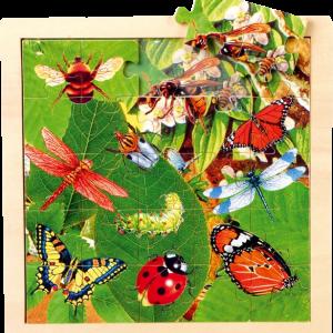 Puzzle Animaux Papillons détouré 230414