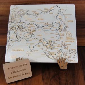 Puzzle Asie Js chevalet panneau Art