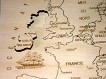 Puzzle Europe gros plan