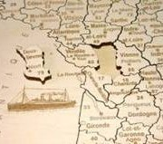 Puzzle France gros plan