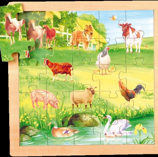 Puzzle Legler Vache détouré 210414