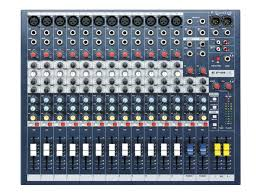 Table de mixage Soundcraft Pro