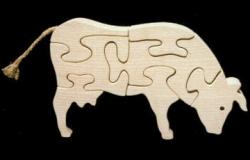 Puzzle Vache JS
