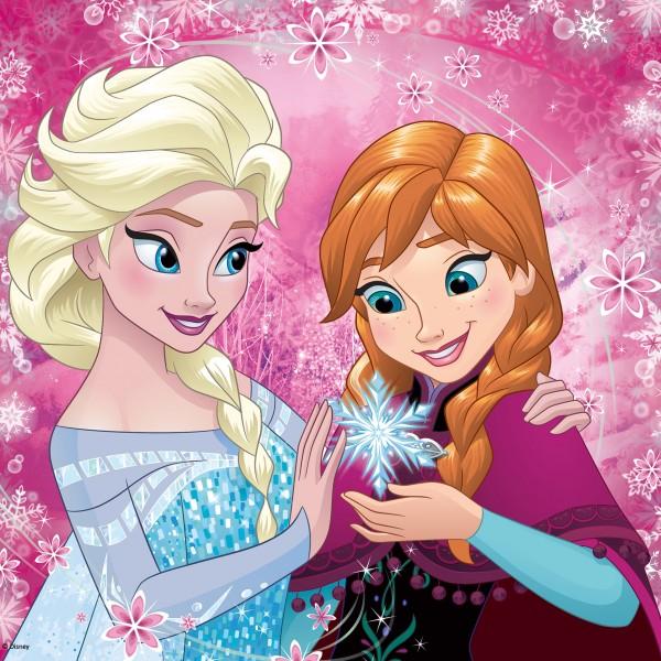 Puzzle Anna & Elsa 36p