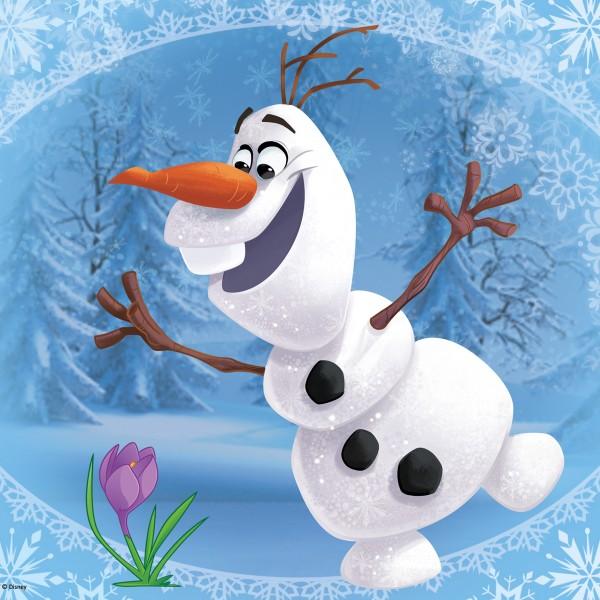 Puzzle Olaf 20p