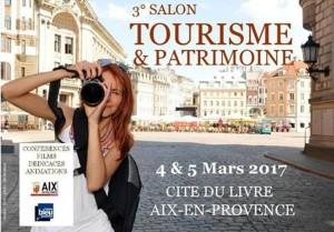 Affiche Tourisme et Patrimoine Aix 2017