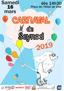 Affiche Carnaval Seynod 19