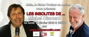 Affichette chronique Michel Diament Lu 110219 18h