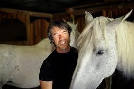 JF Pignon avec un cheval