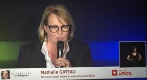 Nathalie Gateau sur scène